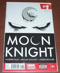 Moon Knight #1! (2014) Marc Spector Becomes Mr. Knight! NM!