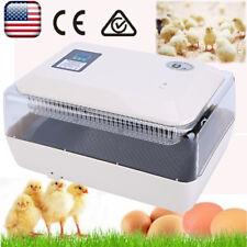 Digital 24 Egg Incubator Temperature Control Full Automatic Turning Chicken