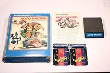 VINTAGE AUTO RACING GAME FOR THE INTELLIVISION CONSOLE CARTRIDGE GAME NO.1113