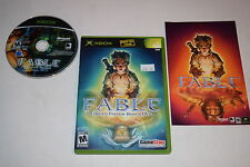 Fable Limited Edition Bonus DVD Microsoft Xbox Video Game Complete