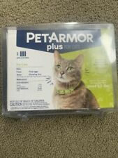 PetArmor Plus Flea & Tick Prevention Treatment for Cats Over 1.5 lbs  3 Pack