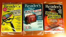QTY 3 READERS DIGEST LOT #2 Feb, March, June 2019  ** shipping included * SEALED