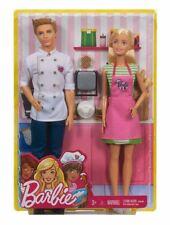 BARBIE E KEN CAFFE' Set 2 Bambole con Accessori - Mattel FHP64