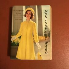 Vintage 1963 Montgomery Ward Spring Summer Catalog Mid Century Clothing Shoes ++