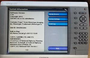 Garmin GPSMAP 4212 Chartplotter Fishfinder Sounder Multifunction Display MFD