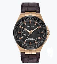 Citizen Eco-Drive Men's Proximity A-T World Time Rose Gold 42mm Watch CB0168-08E