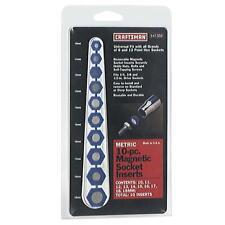 Craftsman 10 Piece Metric Magnetic Socket Insert Kit