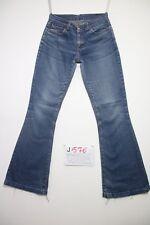Levis 544 Flare bootcut (Cod.J576) Tg.42 W28 L34  jeans usato orlo rifatto