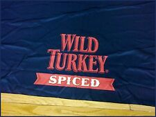 Wild Turkey Rectangle Black Tablecloth