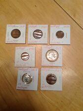 1918-1927 Portugal 2,4,5 & 10 Centavos (7 Coins)
