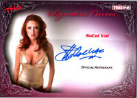TNA SoCal Val 2009 Knockouts Signature Curves Silver Authentic Autograph Card DW