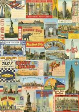 Cavallini New York City Postcards Flat Wrap