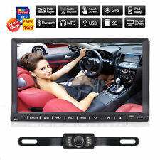 "7"" Touchscreen 2 Din Car DVD Player Radio Stereo In Dash GPS Navi iPod BT+CAM"