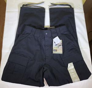 Men's 5.11 Tactical Taclite TDU Cargo Pants Size Medium Midnight Navy #74280INT