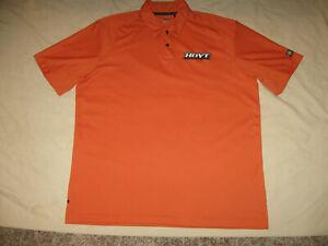Hoyt Archery Polo Shirt Men's XL Guys Compound Bows Recurve Orange Guys