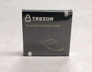 Trezor The Original Hardware Wallet (Black) Brand NEW  Sealed !!!
