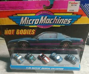 Micromachines hot bodies #26 dazzin drivers collection