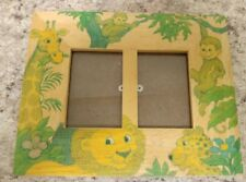 Fetco Wooden Animal Dual Picture Frame 1995