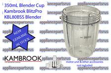 Kambrook BlitzPro KBL80BSS Blender 350mL Cup Part KBL80BSS/01 - NEW - GENUINE