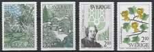 Zweden postfris 1987 MNH 1453-1456 - Botanische Tuinen (1)