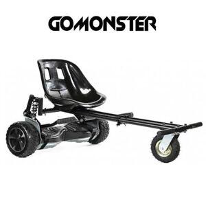 GoMonster HoverKart Black