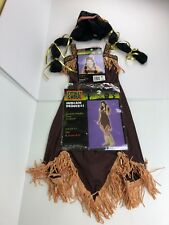 Halloween Costume - Fantasy Dress Up Outfit Indian Princess Size Junior 3 - 5 H2