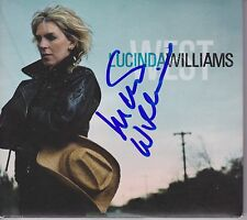 Lucinda Williams signed West cd