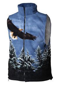 "Fleeceweste Weste ""Eagle"" Gr. L, XL, 2XL, neu, AUSVERKAUF - Räumungsverkauf"