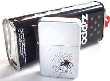 1x Original Zippo Benzin & 1 Sturmfeuerzeug  Spider Spinne Benzinfeuerzeug !