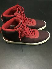 Nike Air NSW Pro Stepper Running Basketball Shoes Red Black 776086-600 Size 11