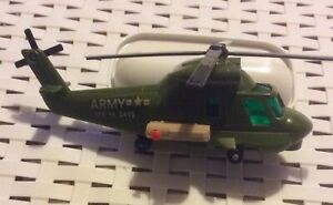 Vintage Matchbox Battle Kings Helicopter K-118. 1978.  Firing Missile. Ex. Con.