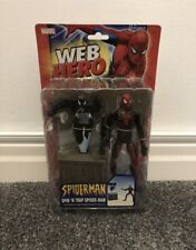 ToyBiz Spider-Man (Spin 'N Trap) Web Hero Collection. (Mint In Box, Rare, VHTF)