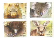 Native Wildlife-Australia- set of 4 fine used