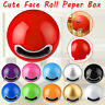 Tissue Holder Ball Shape Face Wall Mounted Expression Toilet Home Roll Paper