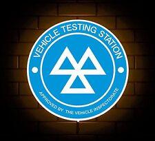 Mot Testing Station Logo Sign Led Light Box Garage Advertising Board Car Service