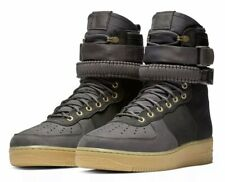NIKE AIR FORCE 1 One Premium AF1 SFB Special Forces High Gray Black Size 10 Men