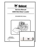 Bobcat S550 Workshop Repair Service Manual 6990677 USB Stick + Download