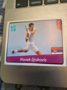 Panini London Olympics 2012 - No 390 Novak Djokovic