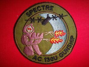 Vietnam War Patch USAF Air Force SPECTRE AC-130U GUNSHIP