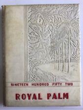 1952 Royal Palm Yearbook Florida Christian College Tampa FL Volume VI
