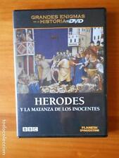 DVD HERODES Y LA MATANZA DE LOS INOCENTES - GRANDES ENIGMAS DE LA HISTORIA (G3)