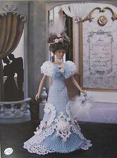 Annie's Attic Potter Fashion Bed Doll June Crochet Pattern 1995 Trousseau