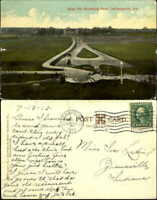 Bear Pit Riverside Park Indianapolis Indiana IN mailed 1913