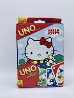 2012 Sanrio Hello Kitty UNO Card Game Keepsake Collector Tin Brand New sealed