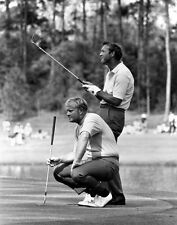 JACK NICKLAUS ARNOLD PALMER MASTERS 8X10 GLOSSY PHOTO PICTURE