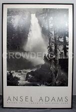 "Ansel Adams Nevada Fall Yosemite National Park AA Authorized Edition 24.5""x36.5"""