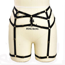 Harness Garter Sexy Goth Lingerie Elastic Cage Bandage Body Chain | Adjustable