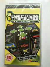 Midway Arcade Treasures: Extended Play For Sony PSP (New & Sealed)