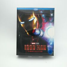 Iron Man - 3 Movie Collection - Blu-ray Box Set (2018)