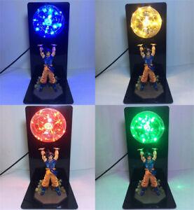 Anime Dragon Ball Z LED Light Son Goku Spirit Bomb Lamp Action Figures Gift Toys